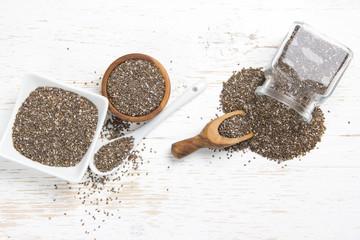 Chia Seed Heaps