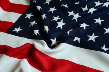 American Flag as background
