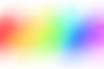 Abstract color rainbow background gradient blur illustration vector