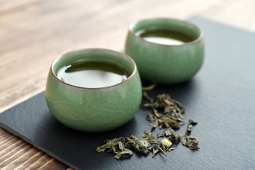 Green tea in tea
