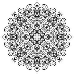 Mandala background art