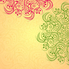 Mandala background art
