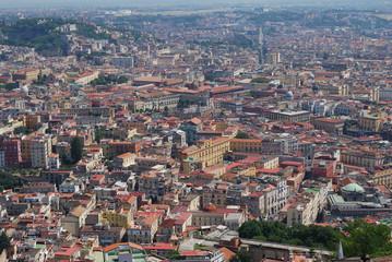 Napoli vista aerea, Italia