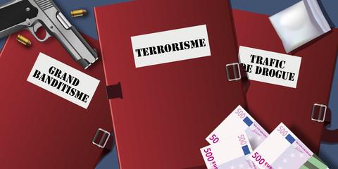 Criminalité - terrorisme - Drogue