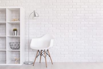 So white, so clear, so modern space!