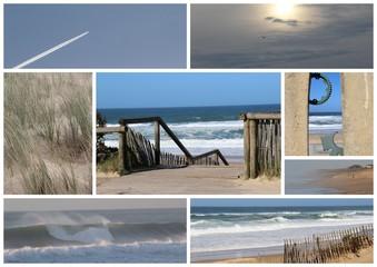 Carte postale, photos, France, tourisme, océan, mer, vue, ciel, vacances.