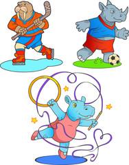 sport animals