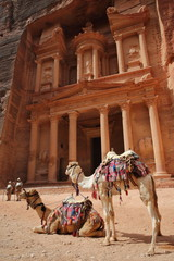 El Khazneh (Le Trésor) à Petra  - Jordanie