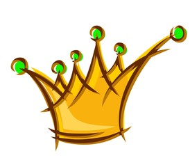 Logo of gold crown.