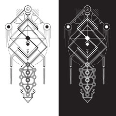 Sacred Geometry. Magic totem