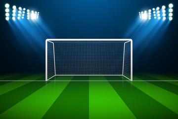 Soccer goal, vector