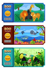 Zoo Ticket Design