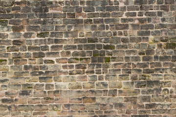 old castle wall background / stone wall