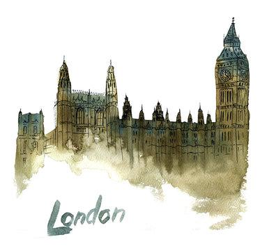 illustration of Big Ben