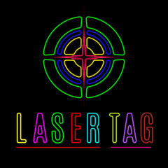 laser tag neon