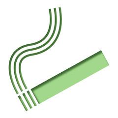 Logo cigarette.