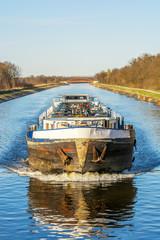 Binnenschifffahrt auf dem Mittellandkanal
