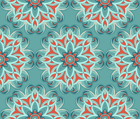 Arabic seamless pattern.