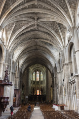 Interior of Bordeaux Cathedral