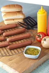 hotdog sandwich ingredients
