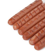 yummy grilled hotdogs
