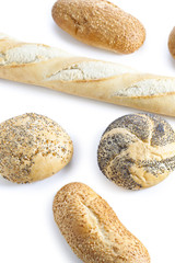 several breads