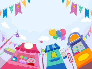 Candy Stores Theme Park