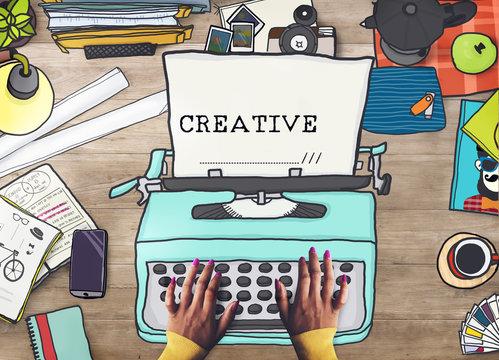 Creativity Creative Ideas Imagination Inspiration Design Concept