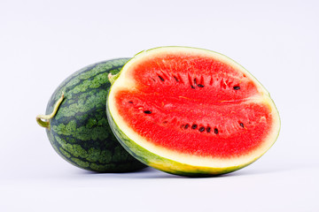 Watermelon is a fruit with a sweet taste.