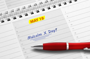 Note: Malcolm X Day