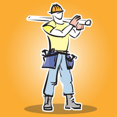 Builder icon.