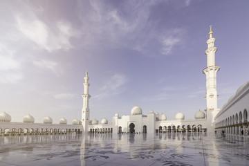 Fotobehang Dubai Sheikh Zayed Grand Mosque