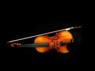 Hintergrund mit Geige