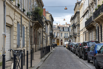 Fototapete - Street of Bordeaux
