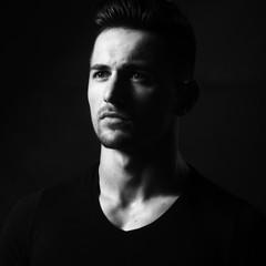 Stylish guy portrait