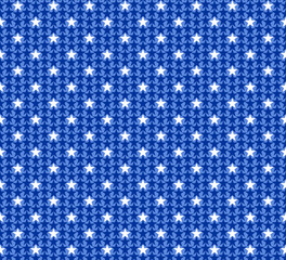 Seamless patterns with American symbols
