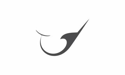 fishing clip art vector logo