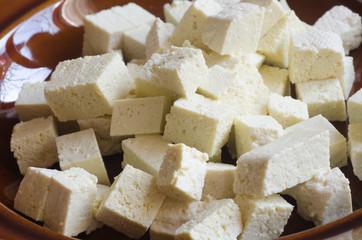 raw soya tofu
