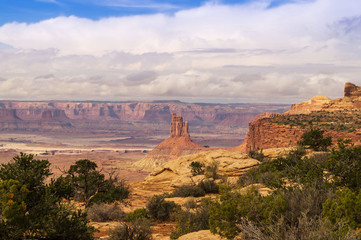 A beautiful view point in Canyonlands National park