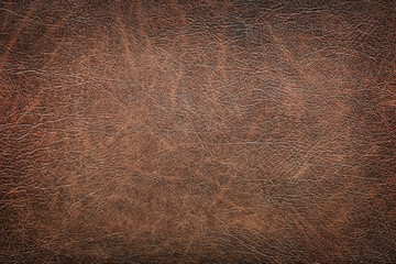 background of red vintage leather grunge Wall mural