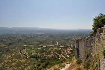 Mystras - the capital of the Byzantine Despotate of the Morea