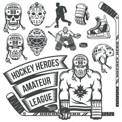 Hockey equipment