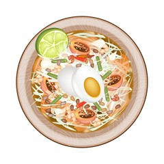 Green Papaya Salad with Fermented Salted Egg