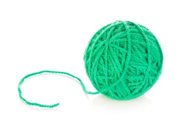 Green Yarn Ball