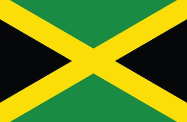 Jamaican flag.