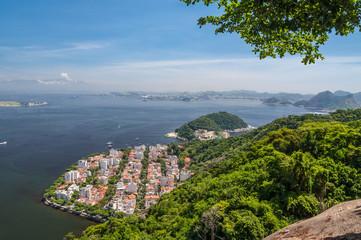 Urca district in Rio de Janeiro Brazil