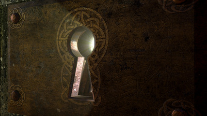 Fantasy Keyhole - Light Rays