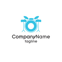 Music Musical Logo vector illustration