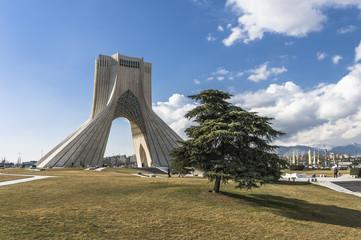 Azadi Tower in Teheran, Iran