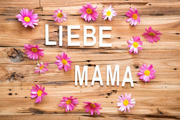 Liebe Mama Karte